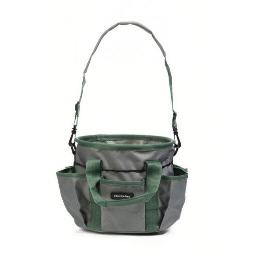 Equithéme hooldusvahendite kott Multipockets hall/roheline
