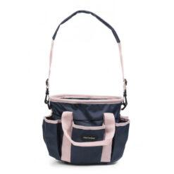 Equithéme hooldusvahendite kott Multipockets roosa/tumesinine