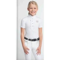 Võistlussärk Charlotte lastele valge