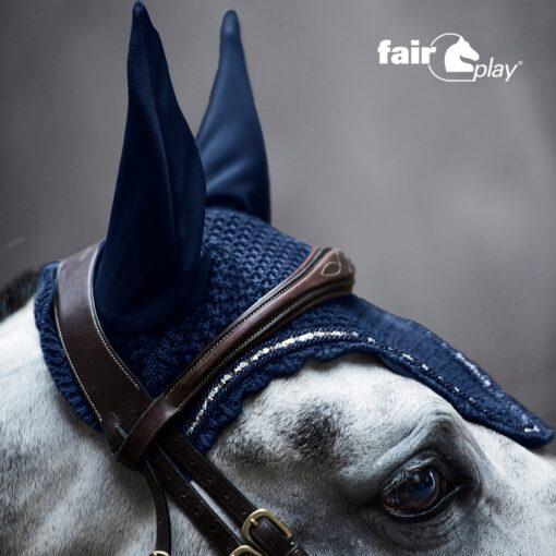 Fair Play kõrvad Azuryt tumesinine