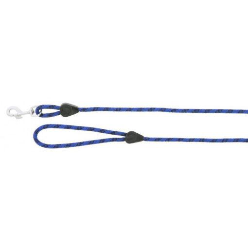Käepidemega jalutusnöör Rope with Handle sinine/must