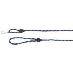 Käepidemega jalutusnöör Rope with Handle tumesinine/helesinine