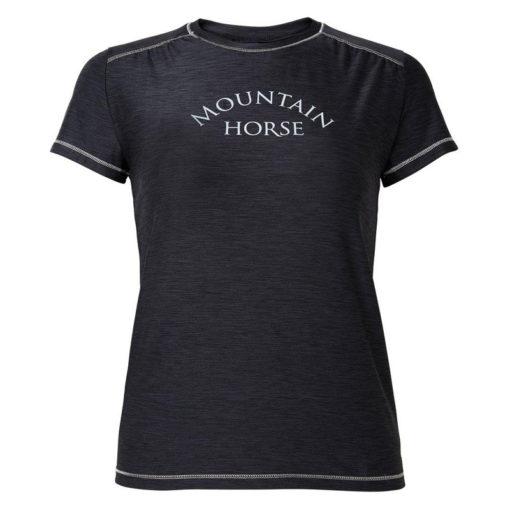 Mountain horse laste T-särk Elsa must