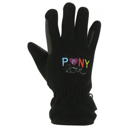 Equi-Kids laste talvekindad Pony Love must