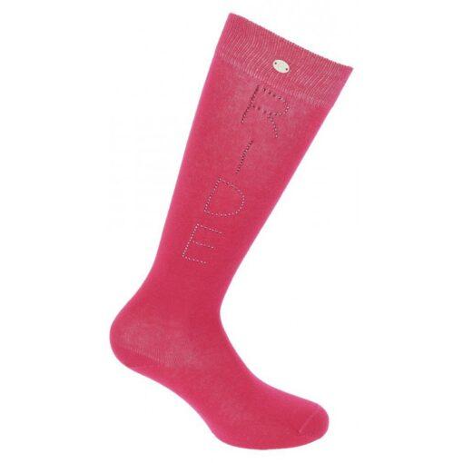 Equitheme põlvikud Strass Ride roosa