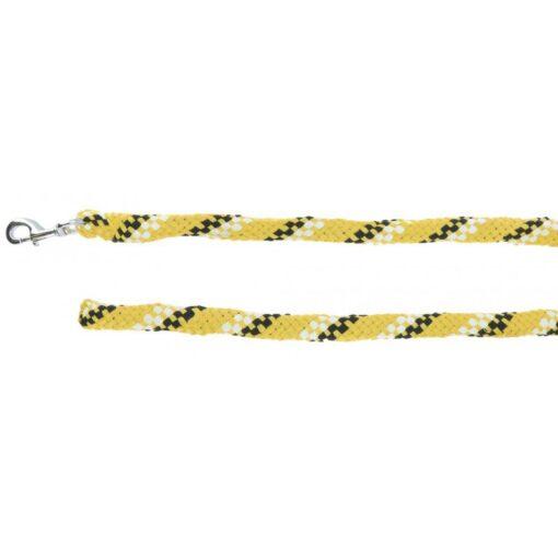Equi-Théme jalutusnöör Tyrex valge must kollane