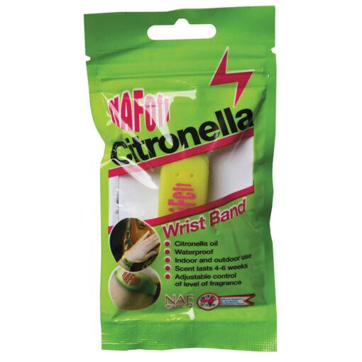 NAF OFF putukatõrjevahendiga käepael Citronella