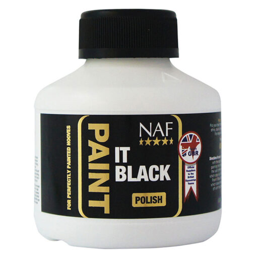 NAF kabjaõli Paint It Black Hoof Polish
