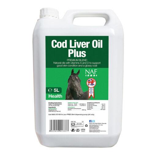 NAF kalamaksaõli Cod Liver Oil Plus 5 L