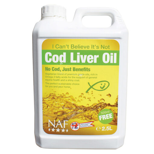 NAF toidulisand I Can't Belive It's Not Cod Liver Oil 2,5 liitrit