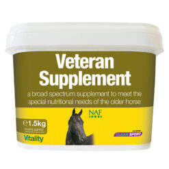 NAF toidulisand Veteran eakatele hobustele