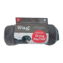 Henry Wag mikrofiiber kuivatusjakk koerale sinine/hall