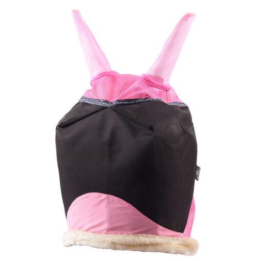 HV Polo putukamask kunstlambanahast servadega Tygo - silmad, kõrvad roosa