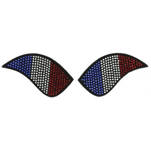 Equi-Théme saapa kaunistused My Primera ratsasaabastele Prantsusmaa lipp