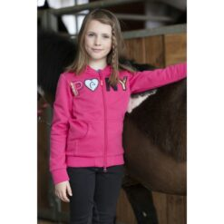 Equi-Kids laste fliispusa Olga roosa