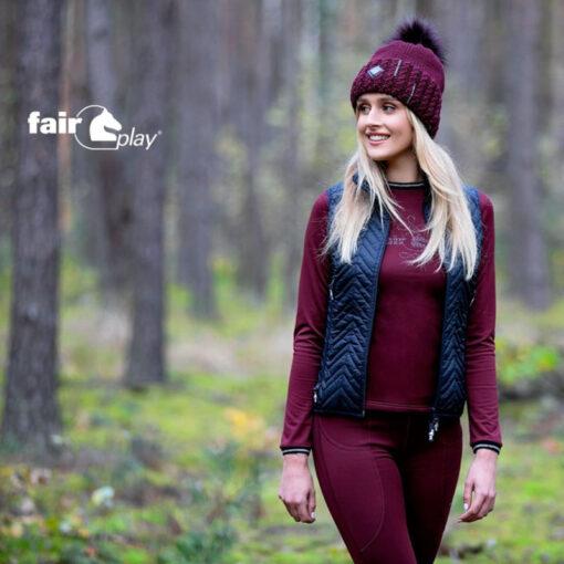 Fair Play tutimüts Glow, vest Viki, trennipluus Grace ja ratsaretuusid Elsa 2.0