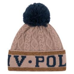 HV Polo müts Knit helepruun