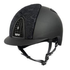 KEP Italia kaska Cromo Textile Black Adelaide Lace