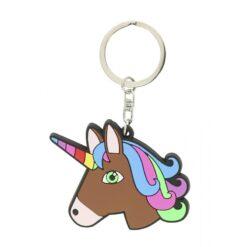 Equi-Kids võtmehoidja Licorne pruun hobuse pea