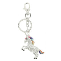 Equi-Kids võtmehoidja Licorne Unicorn hõbedane