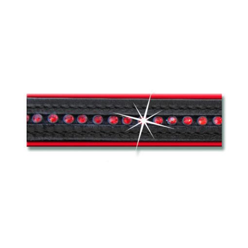 Waldhausen nahast päitsed Star must/punane