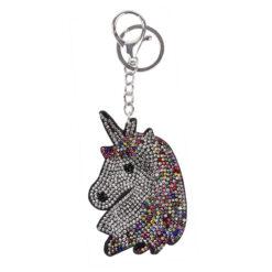 Waldhausen võtmehoidja Unicorn Head värviline/hõbe