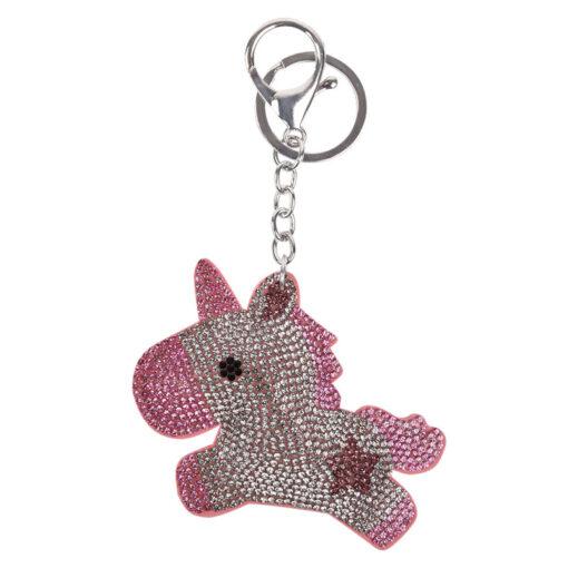 Waldhausen võtmehoidja Unicorn roosa/hõbe
