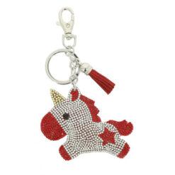 Equikids võtmehoidja Baby Licorne punane