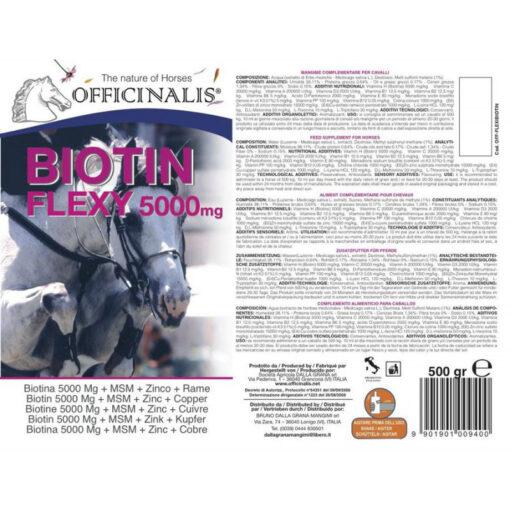 Officinalis Flexi Biotin teave