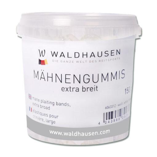 Waldhausen silikoonist lakakummid Extra Wide valge suur