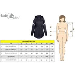 Fair Play mõõdutabel Liner