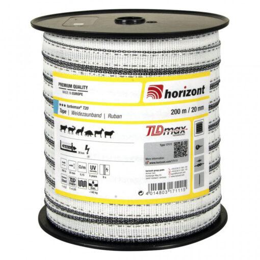 Horizont elektrikarjuse lint Turbomax 20 mm
