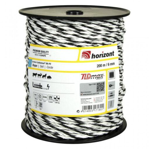 Horizont elektrikarjuse nöör Turbomax 6 mm