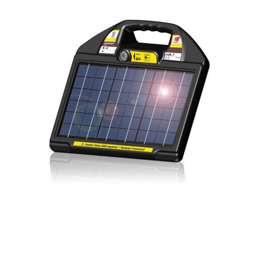 Horizont päikesepaneeliga elektrikarjus Equistop Solar Station AS50