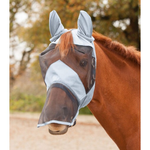 Waldhausen putukamask Premium - silmad, kõrvad, nina hõbedane