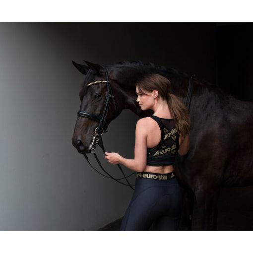 Euro-Star spordirinnahoidja Yoka ja täisgrippidega ratsaretuusid Athletic Fashion