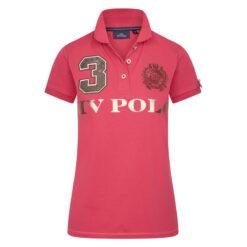 HV Polo polosärk Favouritas Luxury helepunane