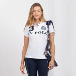 HV Polo polosärk Favouritas Luxury valge